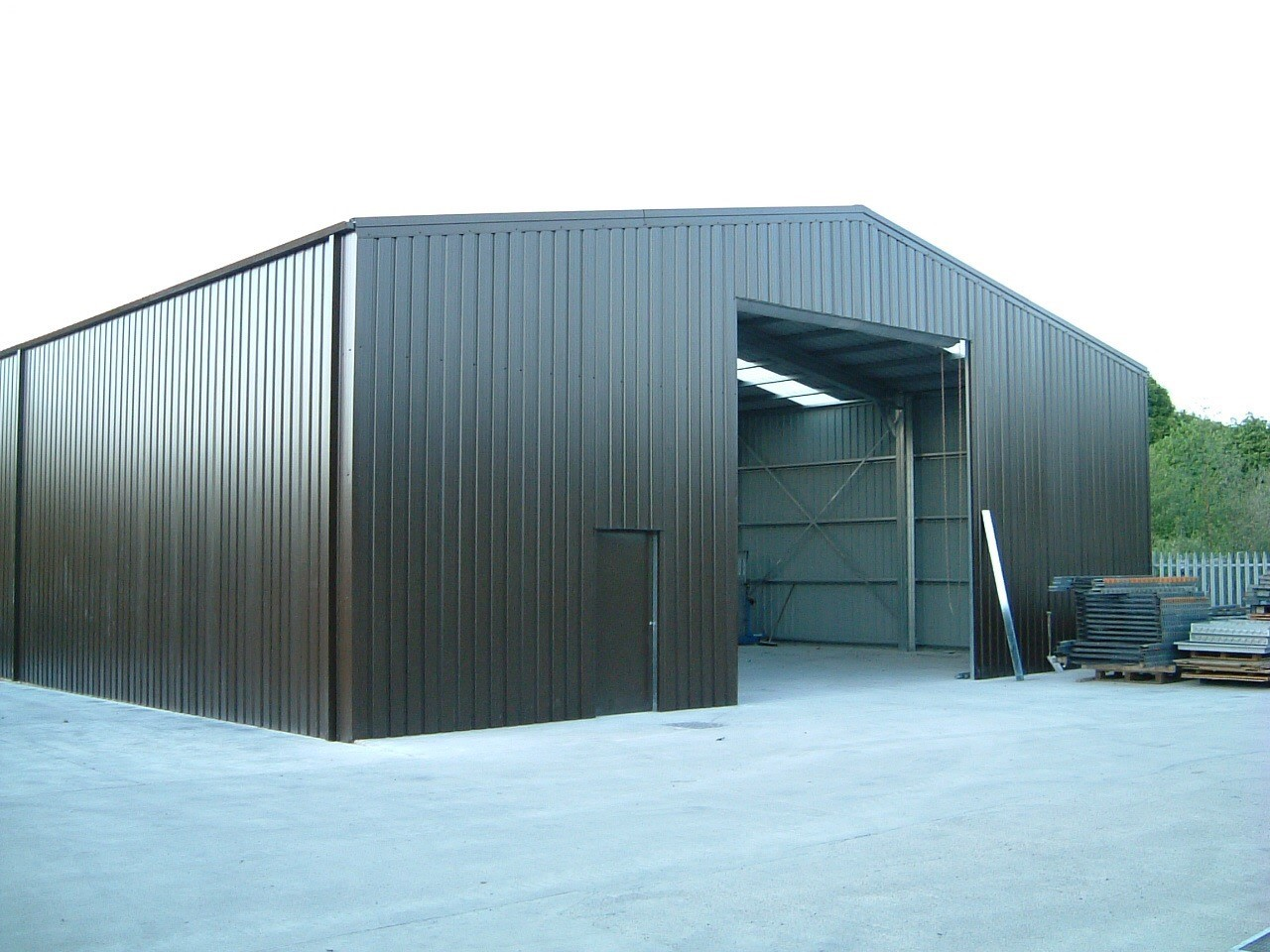 Gallery temporary buildings for Clear span garages